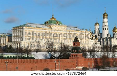 Grand Kremlin Palace - stock photo