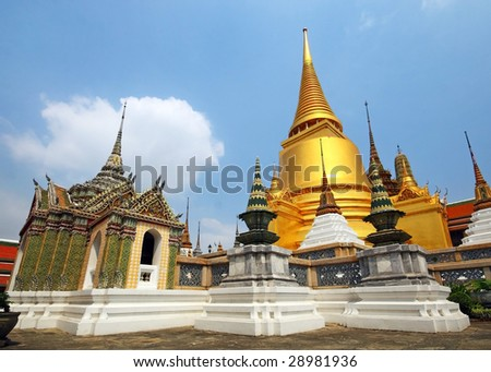 Grand Palace Bangkok - stock photo