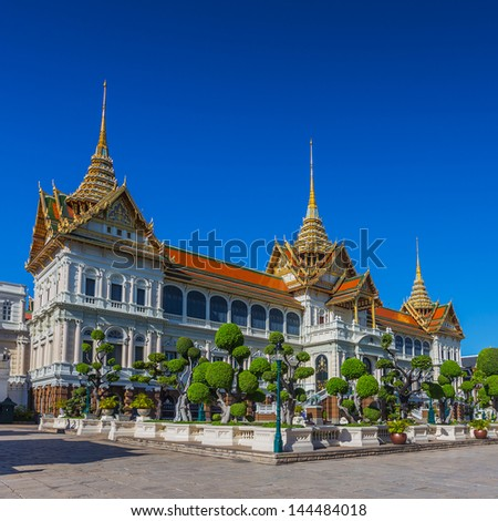 Grand palace bangkok, THAILLAND - stock photo