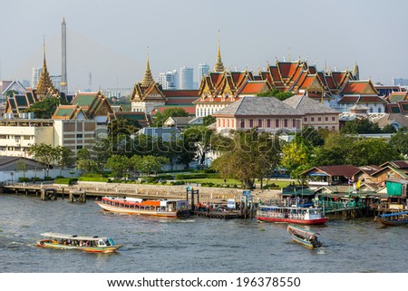 Grand Palace in Bangkok, Thailand - stock photo
