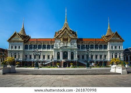 Grand palace of Bangkok, THAILAND - stock photo