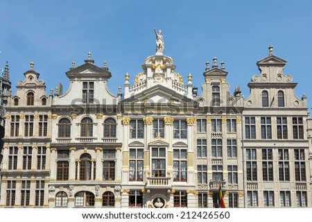 Grand Place in Brussels, Belgium - stock photo