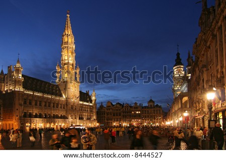 Grand Place or Grote Markt in Brussels, Belgium