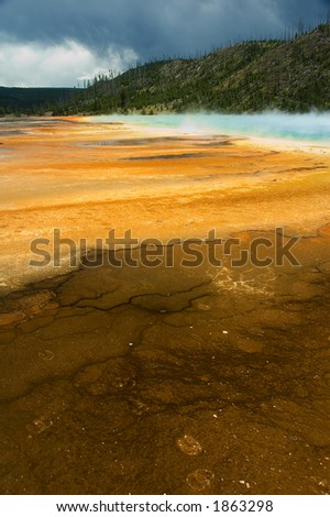 Grand prismatic pool - Yellowstone
