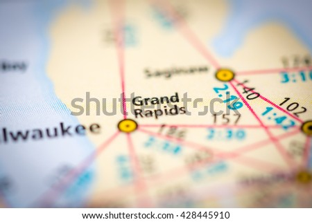 Grand Rapids. USA - stock photo