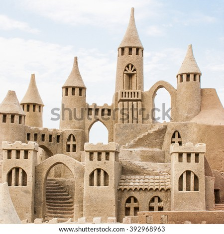 sandcastle stock images royaltyfree images amp vectors