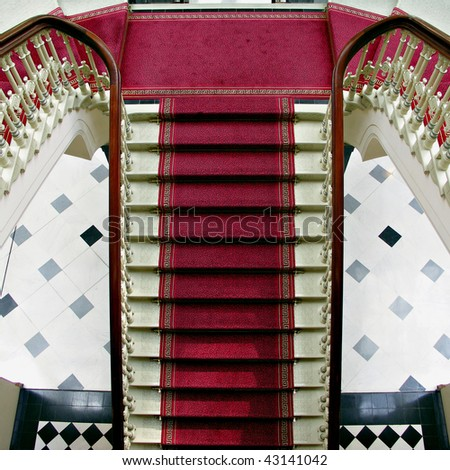 Grand Staircase - stock photo