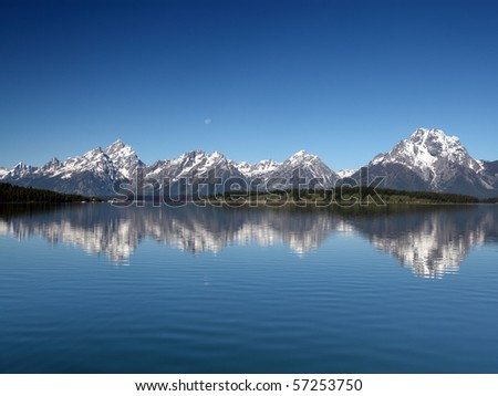 Grand Teton National Park in Wyoming, U.S.A.