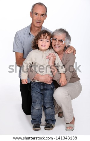 grandparents and their grandson