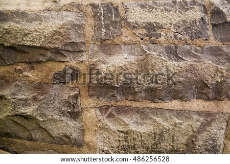 Granite wall texture and background