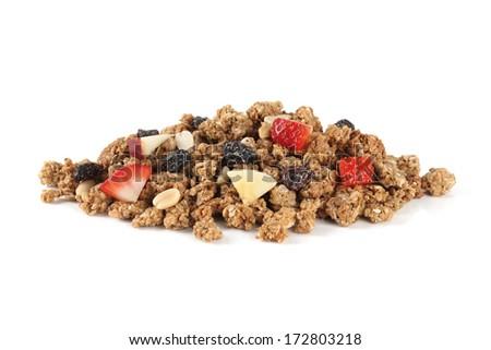 granola - stock photo