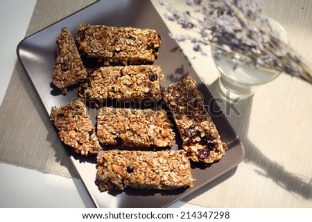 Granola - stock photo