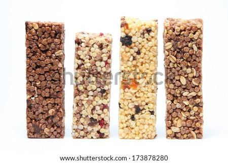 Granola background - stock photo