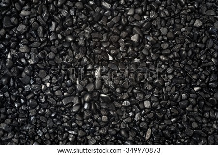 granular texture of black granulat for abstract background