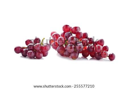 grape isolated on white - stock photo