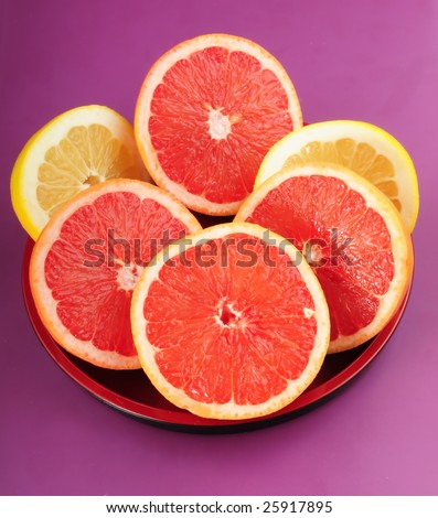 Grapefruit & orange