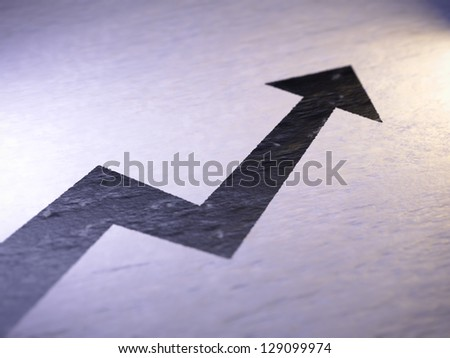 Graph - stock photo
