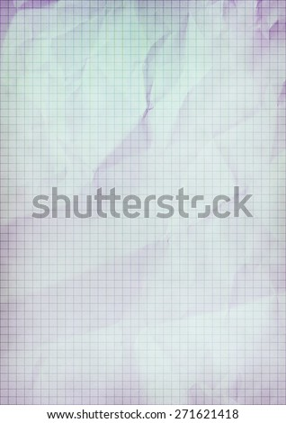 graph crumpled paper vintage background texture - stock photo