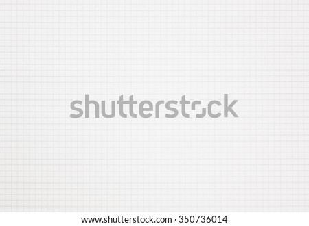 Graph grid notebook squared paper with copy space - stock photo