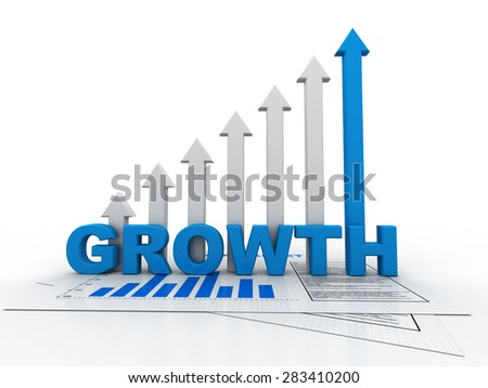 "graph ""growth""  - stock photo"