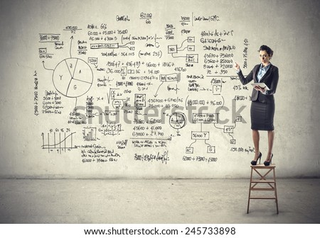 Graphic  - stock photo