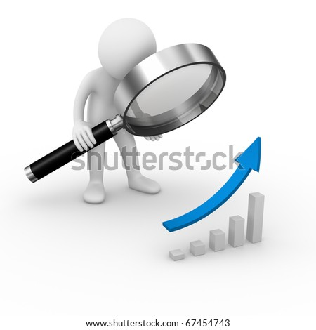 Graphic Analysis - stock photo