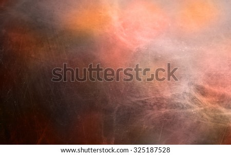 graphic colorful abstract background with scratched surface