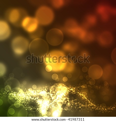 Graphic image from which focus comes off - stock photo