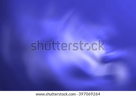 Graphic representation of abstraction of brightly blue colour - stock photo