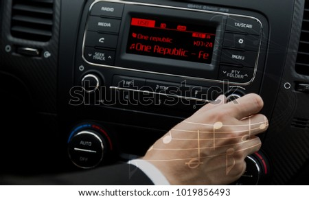 Graphical user interface intelligent car