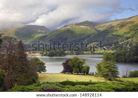 Grasmere, Lake District, Cumbria, England - stock photo