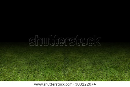 grass at the stadium. A close-up as background - stock photo