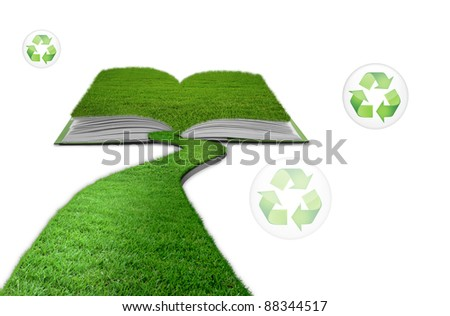 grass book recycle