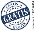 gratis stamp - stock photo