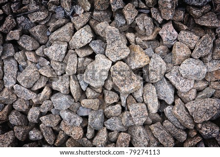 Gravel - abstract natural background