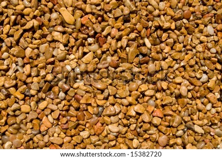 Gravel for background or texture - stock photo