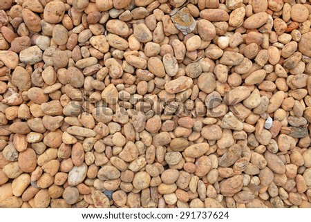 gravel pebble for Background - stock photo