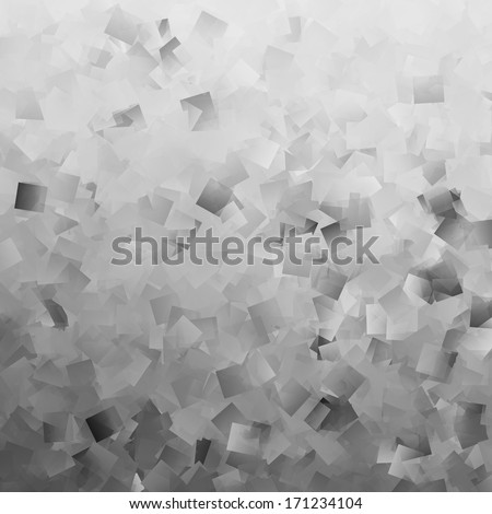gray abstract background black and white cubes pattern texture - stock photo