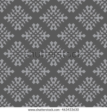 Gray abstract background, striped textured geometric seamless pattern