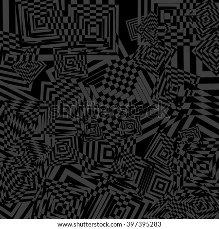 gray abstract background with geometrical pattern