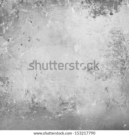 Gray abstract grunge background - stock photo