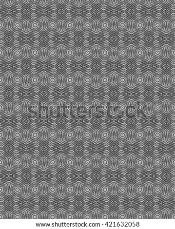 Gray abstract seamless pattern.