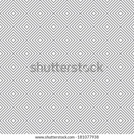 Gray and White Diamonds Tiles Pattern Repeat Background that is seamless and repeats