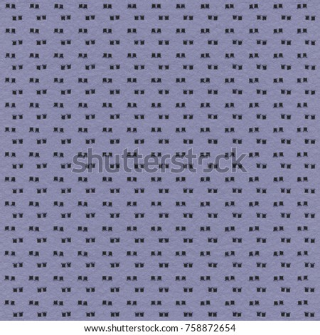 gray-blue perforated leather texture as background