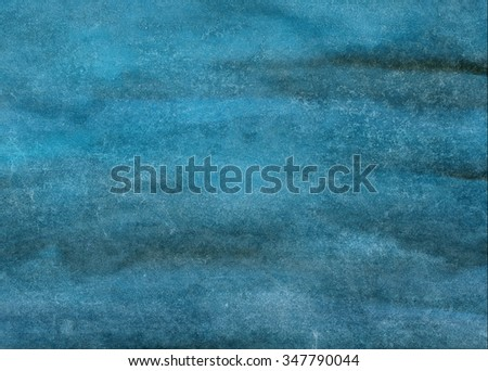 gray-blue watercolor background - stock photo