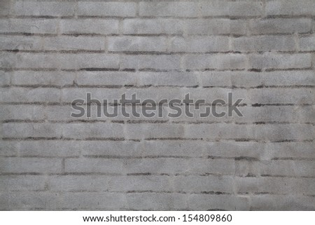 Gray Brick Wall Background Texture