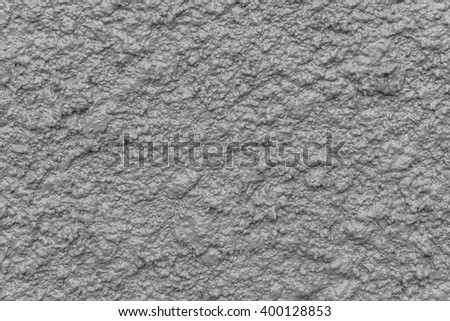 Gray bump plaster wall coating with oil paint texture