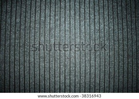 Gray carpet on the floor with striped structure - stock photo