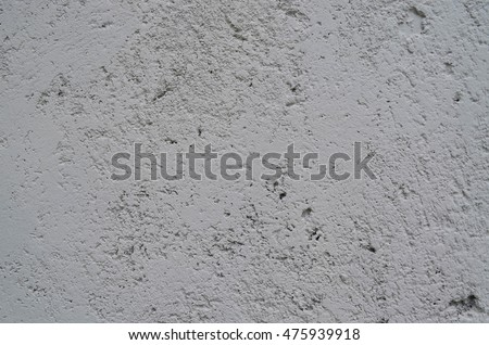 Gray Cement Wall For Background And Texture