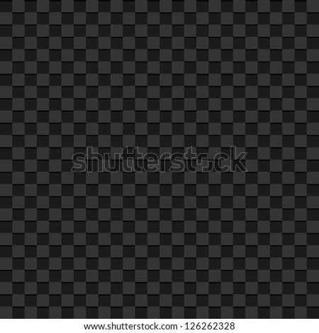 Gray checkered abstract background - stock photo